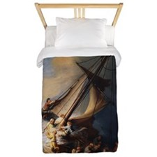 Rembrandt The Storm on the Sea of Galil Twin Duvet