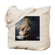 Rembrandt The Storm on the Sea of Galilee Tote Bag