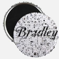 Bradley, Matrix, Abstract Art Magnet
