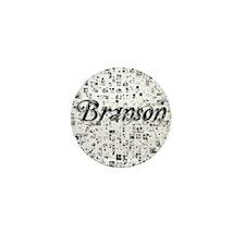 Branson, Matrix, Abstract Art Mini Button