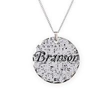 Branson, Matrix, Abstract Ar Necklace