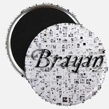 Brayan, Matrix, Abstract Art Magnet