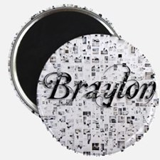 Braylon, Matrix, Abstract Art Magnet