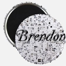 Brendon, Matrix, Abstract Art Magnet
