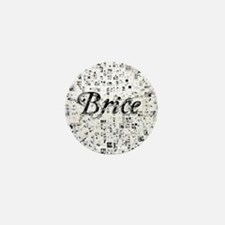 Brice, Matrix, Abstract Art Mini Button