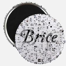 Brice, Matrix, Abstract Art Magnet