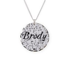 Brody, Matrix, Abstract Art Necklace
