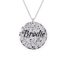 Brodie, Matrix, Abstract Art Necklace