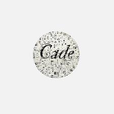 Cade, Matrix, Abstract Art Mini Button