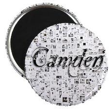 Camden, Matrix, Abstract Art Magnet
