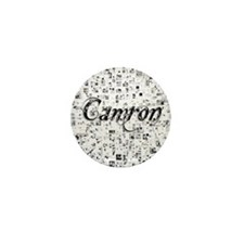 Camron, Matrix, Abstract Art Mini Button