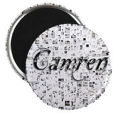Camren, Matrix, Abstract Art Magnet