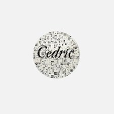 Cedric, Matrix, Abstract Art Mini Button