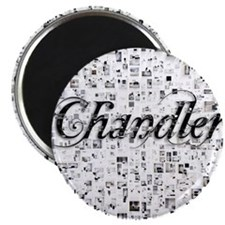 Chandler, Matrix, Abstract Art Magnet