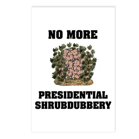 Shrubdubbery Postcards (Package of 8)