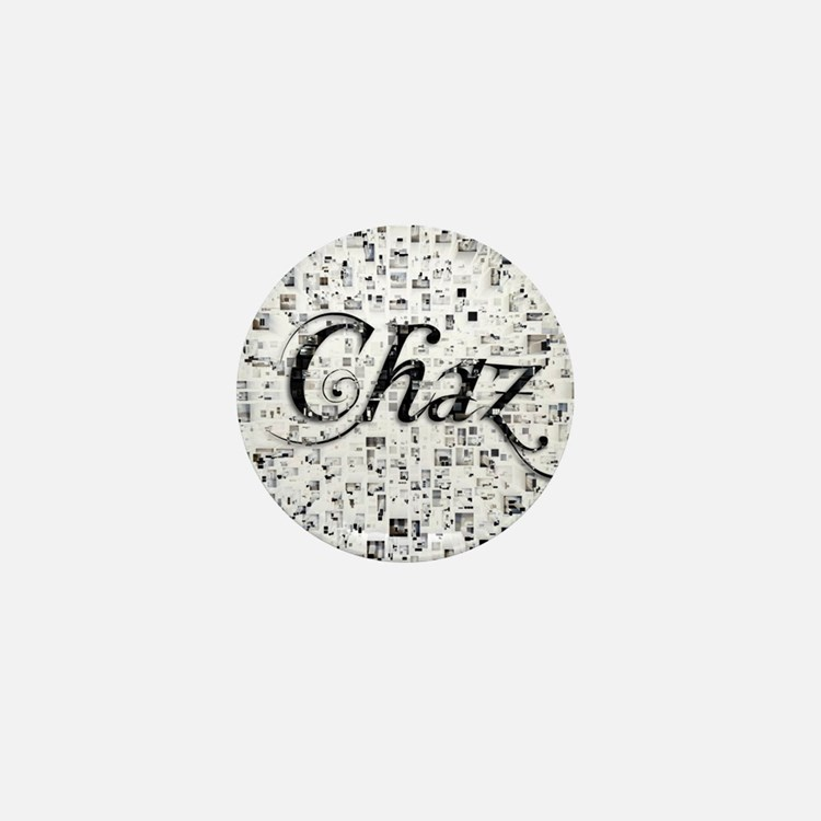Chaz, Matrix, Abstract Art Mini Button