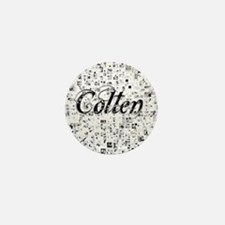Colten, Matrix, Abstract Art Mini Button