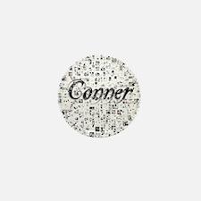 Conner, Matrix, Abstract Art Mini Button