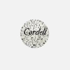 Cordell, Matrix, Abstract Art Mini Button