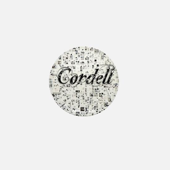 Cordell, Matrix, Abstract Art Mini Button