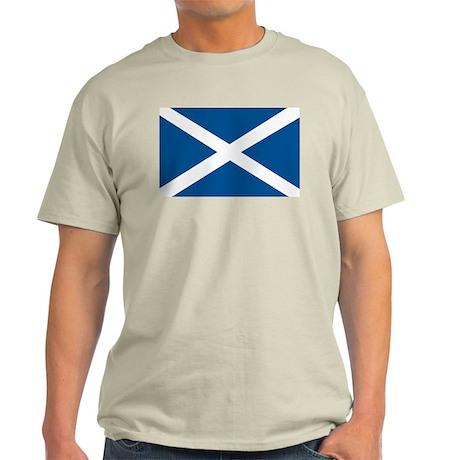Scotland Flag, Scottish Flag Light T-Shirt