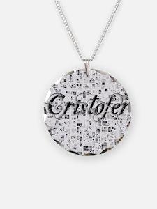 Cristofer, Matrix, Abstract  Necklace
