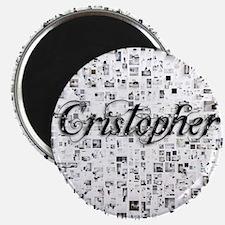 Cristopher, Matrix, Abstract Art Magnet