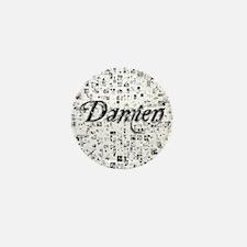 Damien, Matrix, Abstract Art Mini Button