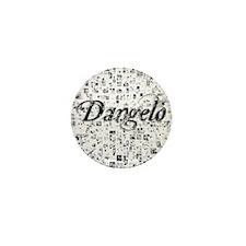 Dangelo, Matrix, Abstract Art Mini Button