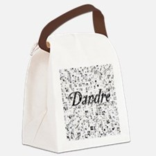 Dandre, Matrix, Abstract Art Canvas Lunch Bag
