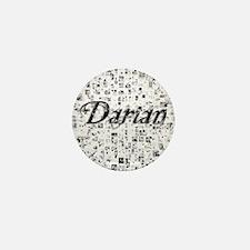 Darian, Matrix, Abstract Art Mini Button