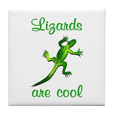 Lizards are Cool Tile Coaster