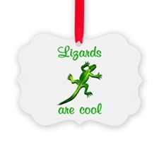 Lizards are Cool Ornament