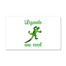 Lizards are Cool Car Magnet 20 x 12
