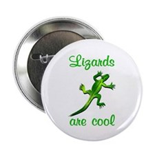 "Lizards are Cool 2.25"" Button"