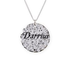 Darrius, Matrix, Abstract Ar Necklace