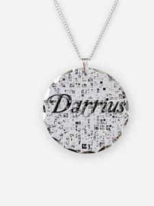 Darrius, Matrix, Abstract Ar Necklace