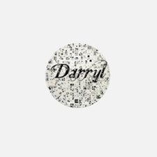 Darryl, Matrix, Abstract Art Mini Button