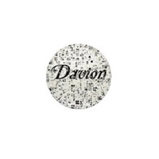 Davion, Matrix, Abstract Art Mini Button