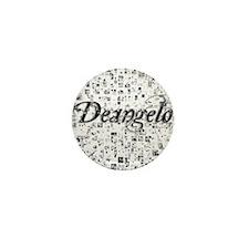 Deangelo, Matrix, Abstract Art Mini Button