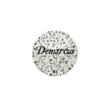 Demarcus, Matrix, Abstract Art Mini Button