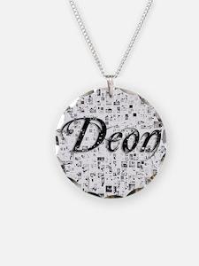 Deon, Matrix, Abstract Art Necklace