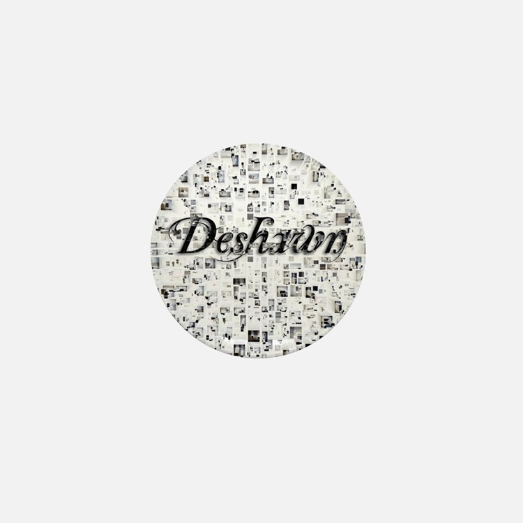 Deshawn, Matrix, Abstract Art Mini Button
