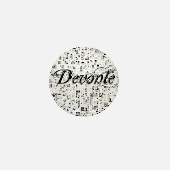Devonte, Matrix, Abstract Art Mini Button