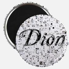 Dion, Matrix, Abstract Art Magnet
