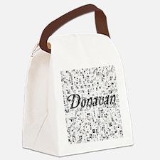 Donavan, Matrix, Abstract Art Canvas Lunch Bag