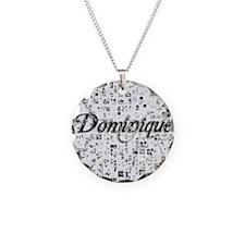 Dominique, Matrix, Abstract  Necklace