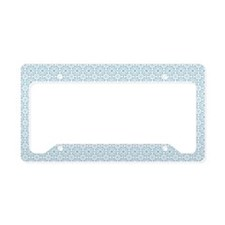 Amara Cornflower pillow case License Plate Holder
