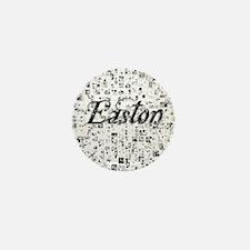 Easton, Matrix, Abstract Art Mini Button