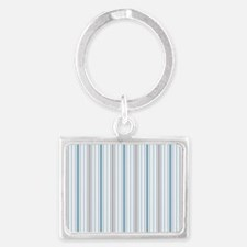Cornflower Stripe pillow case Landscape Keychain